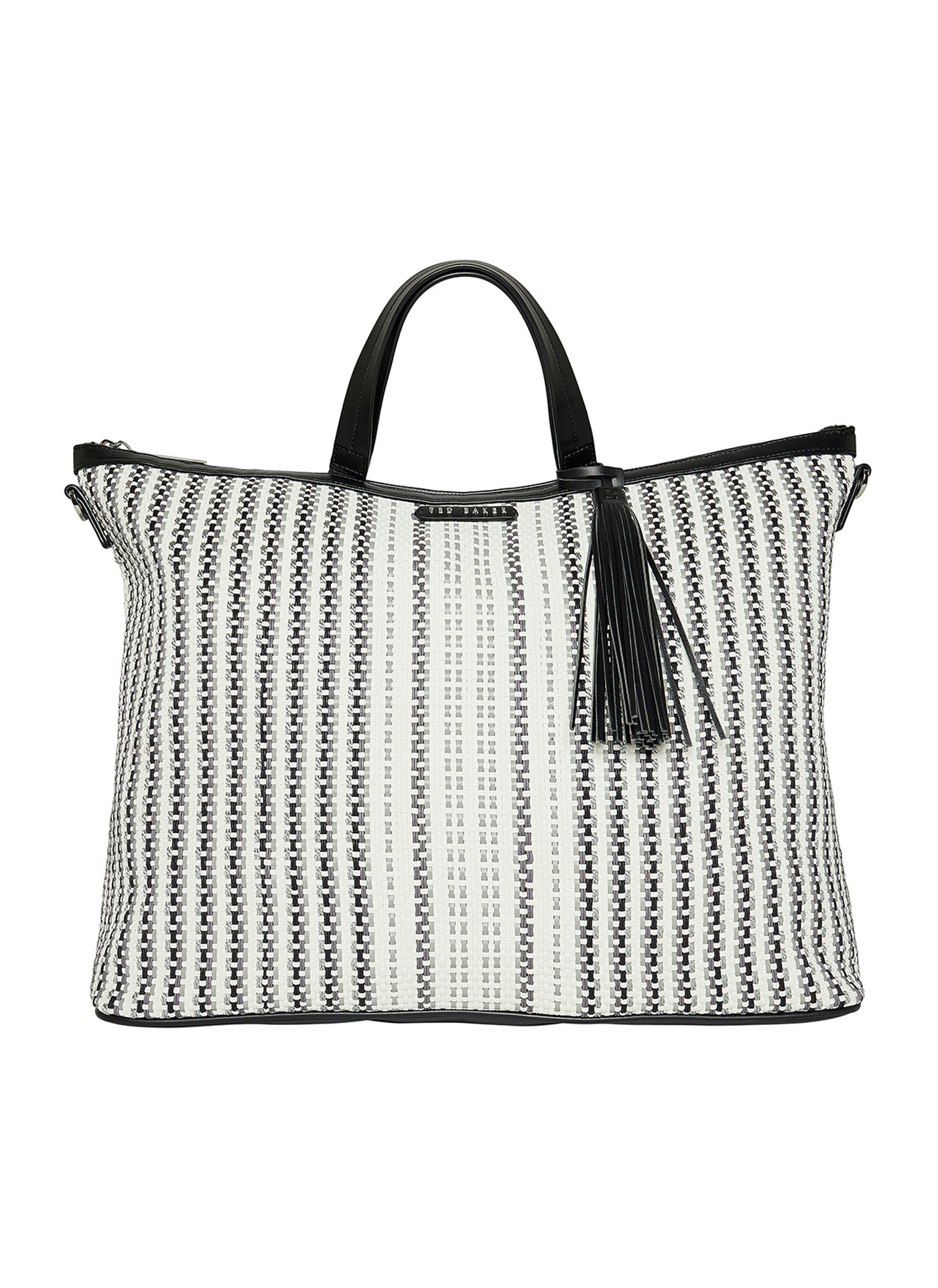 Light grey pattern Ted Baker handbag