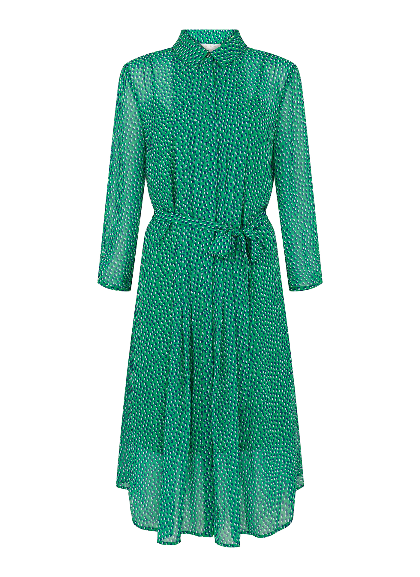 Ted Baker Electric green dress