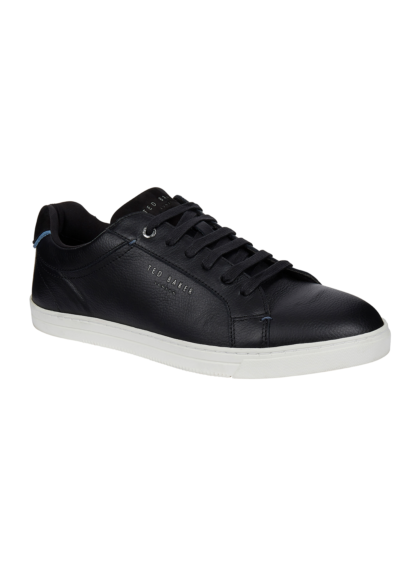 Black Ted Baker casual trainers with white sole