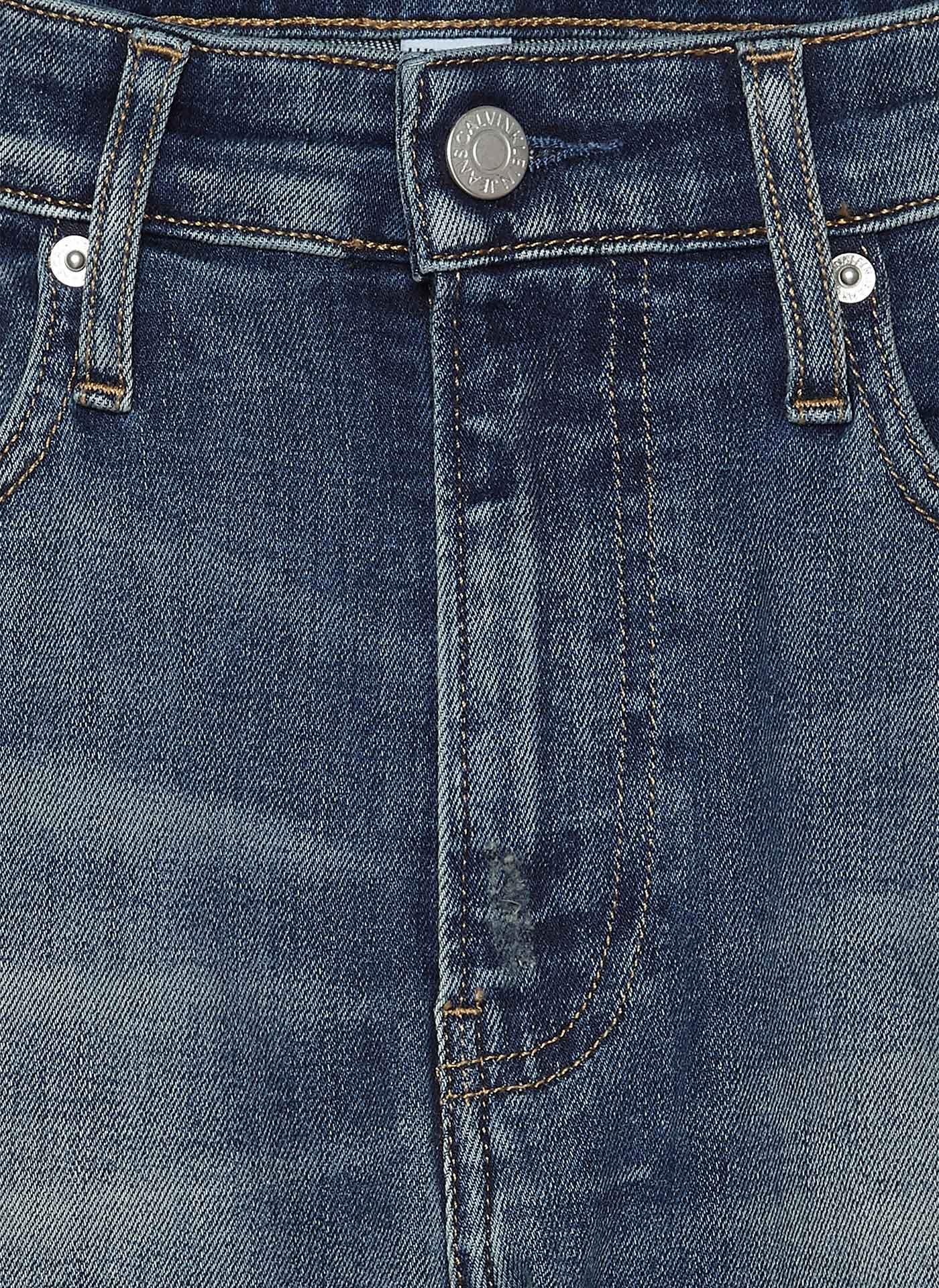 blue denim jeans close up