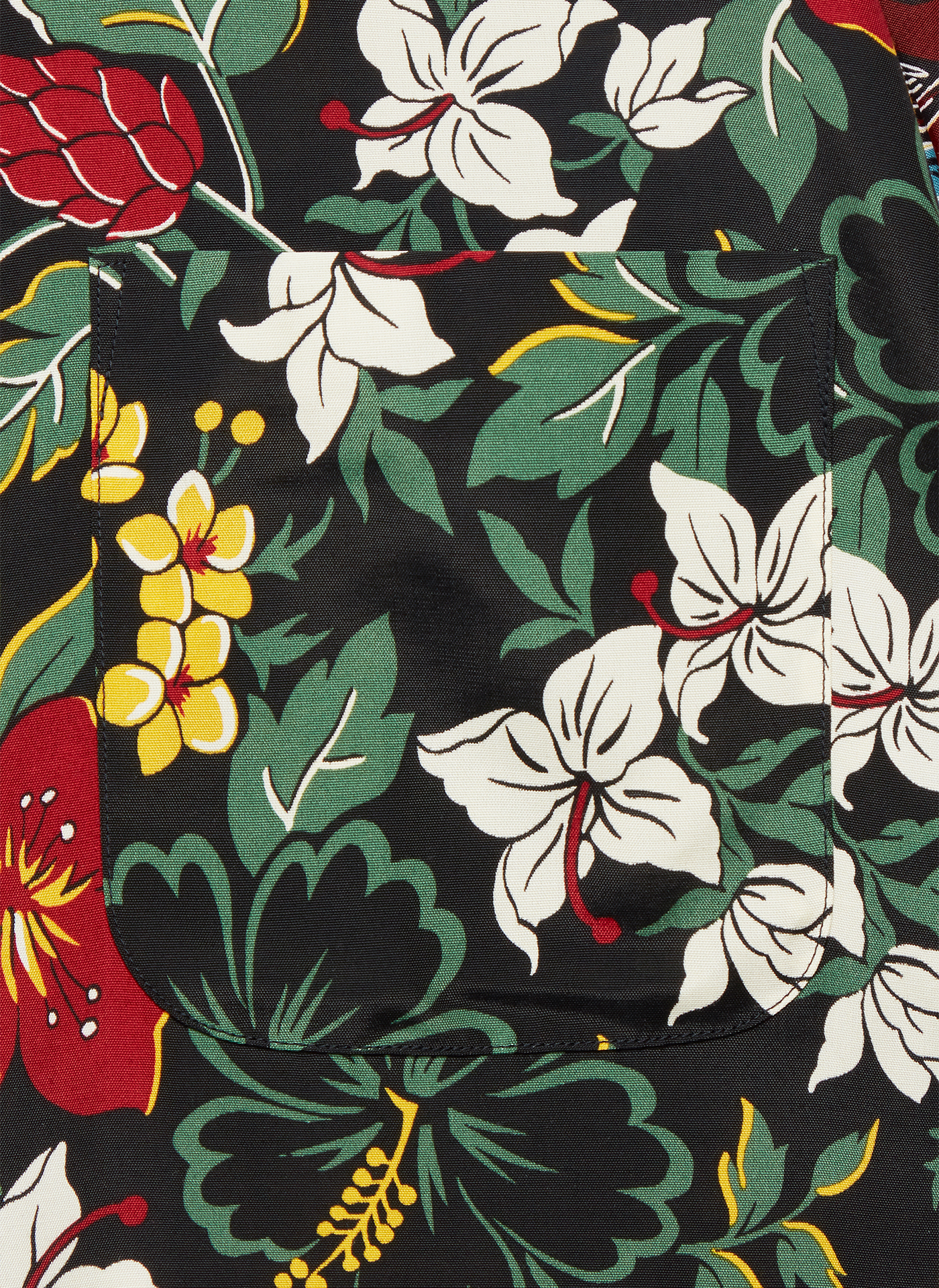 floral textiles pattern on a shirt