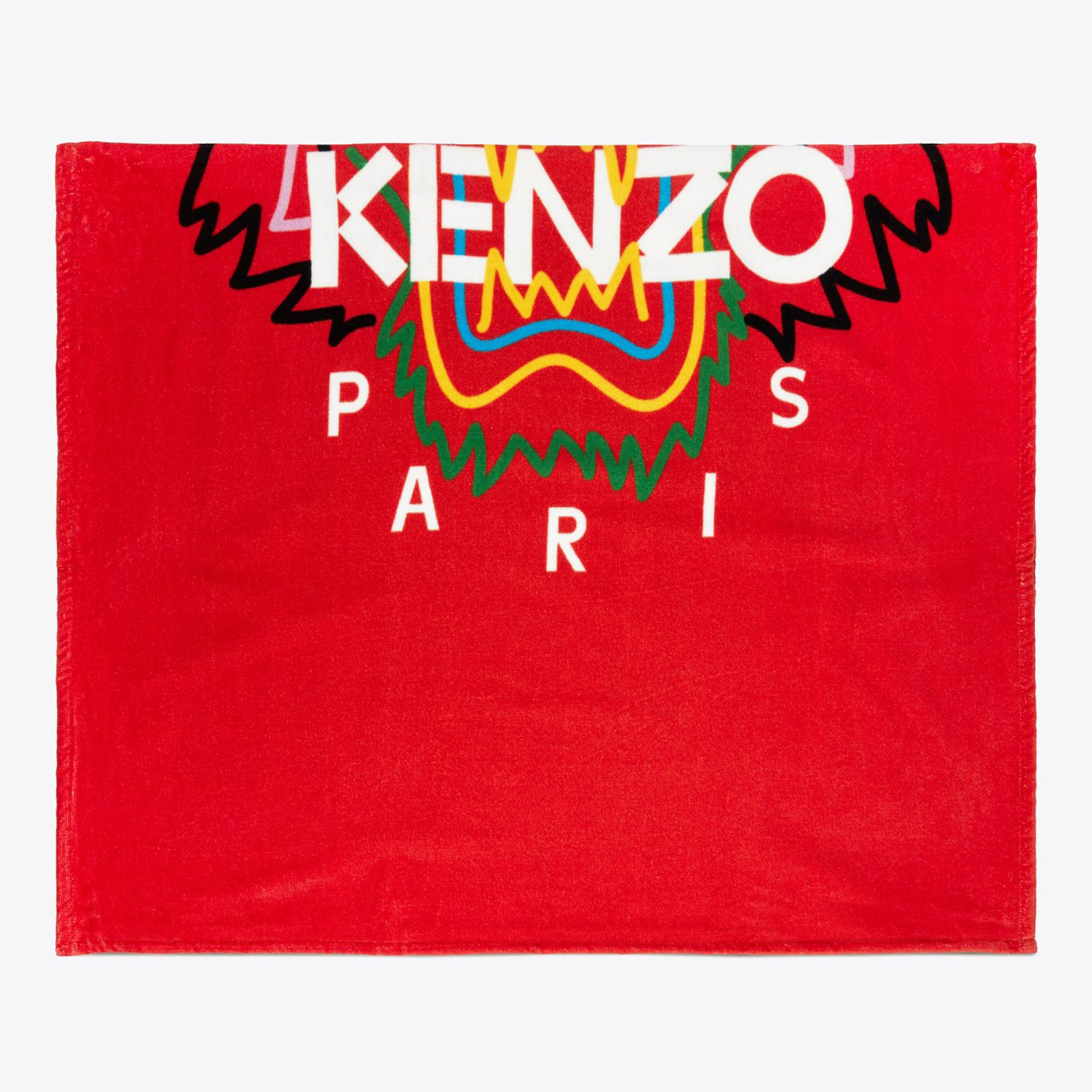 red kenzo napkin