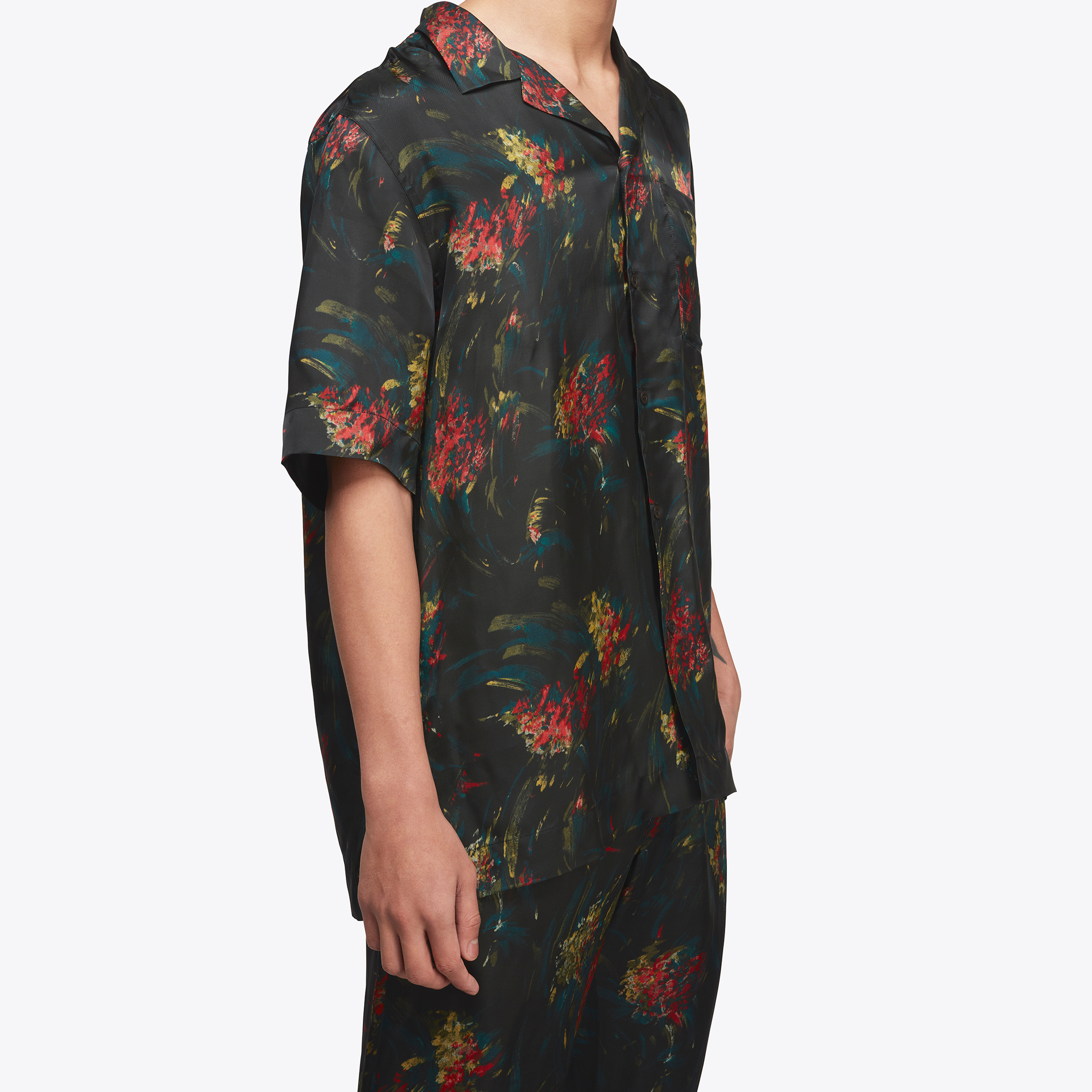 t-shirt with floral pattern