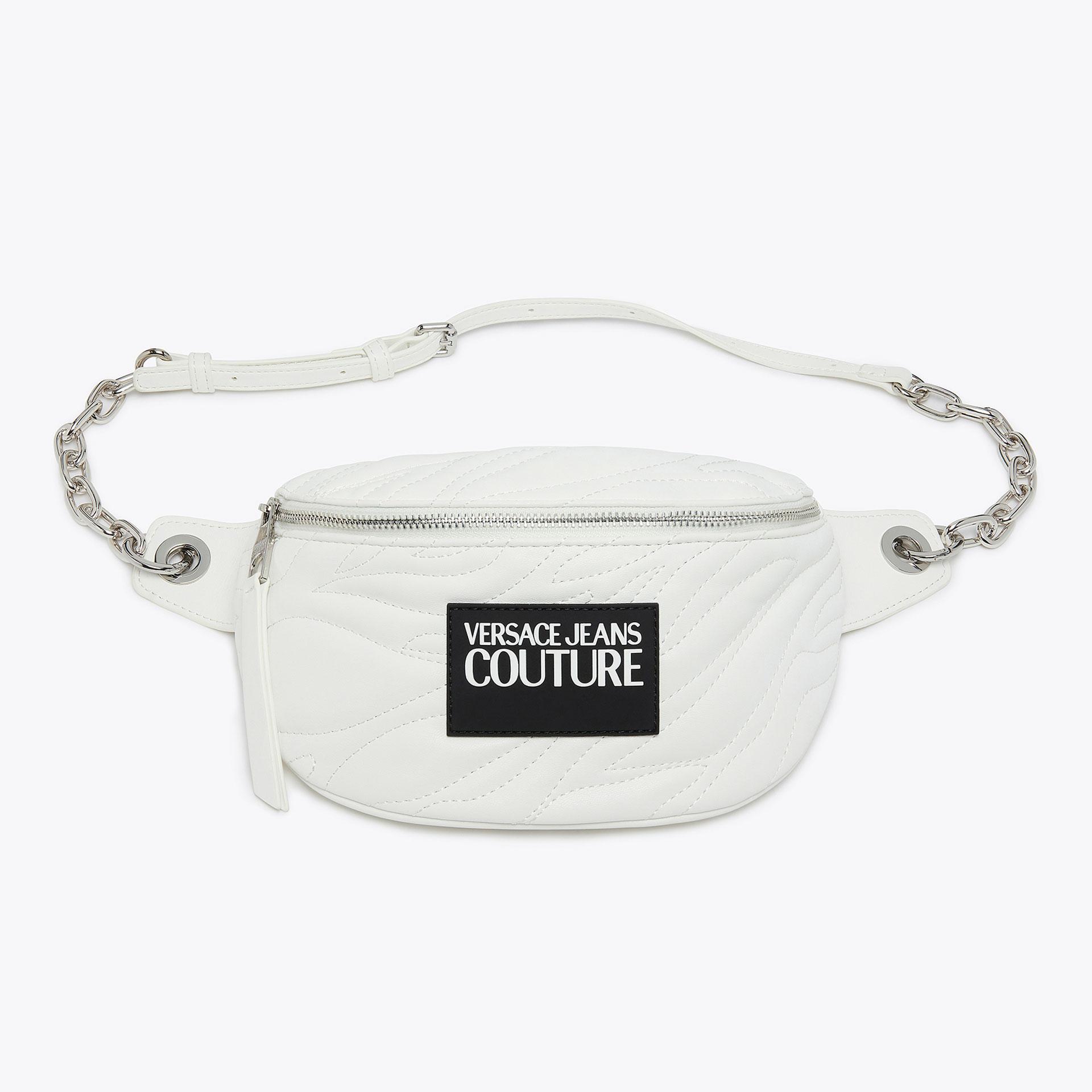 versace white men purse