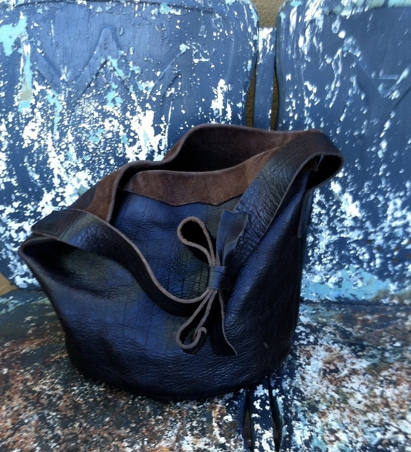 barbara gray Hand Sewn American Bison Leather Goods