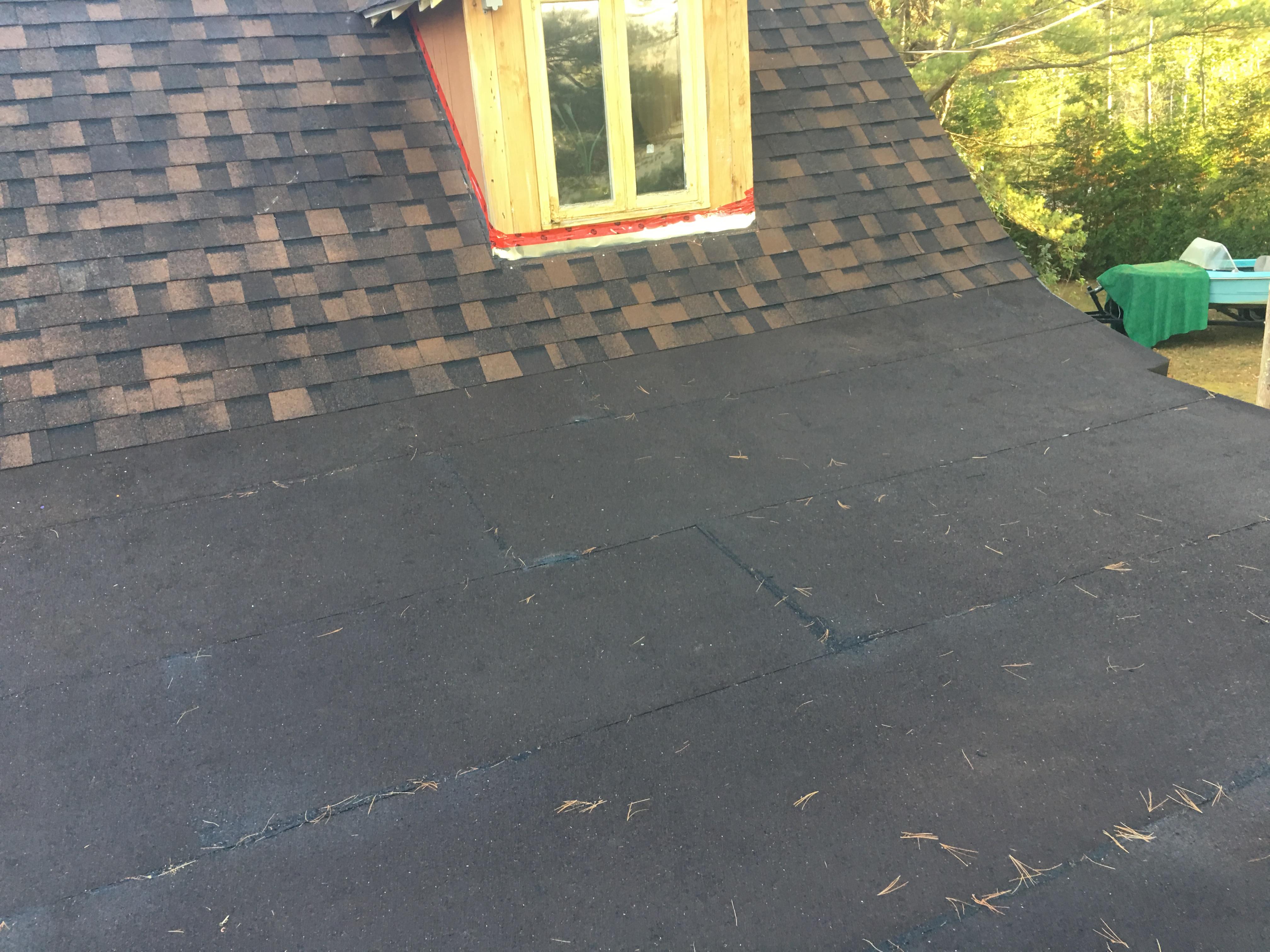 Rénovation d'une toiture résidentielle - 2