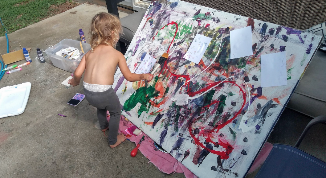 Let Them Create (Art) Charleston Moms
