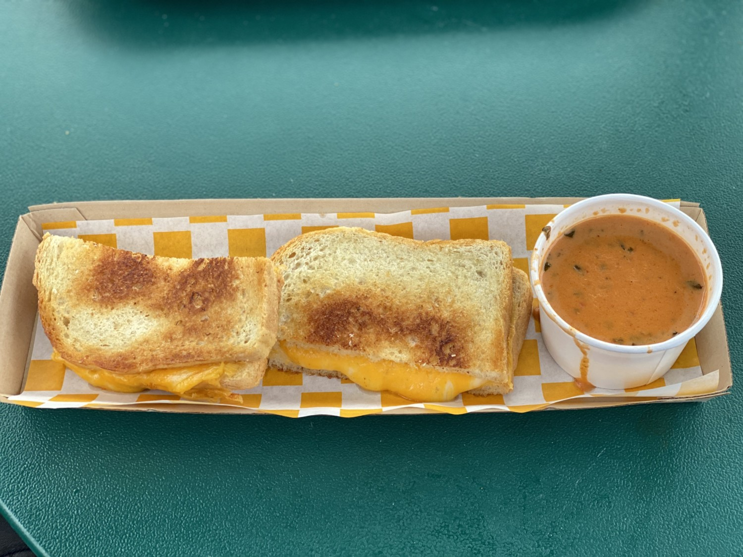 Woody's Lunch Box Grilled Cheese