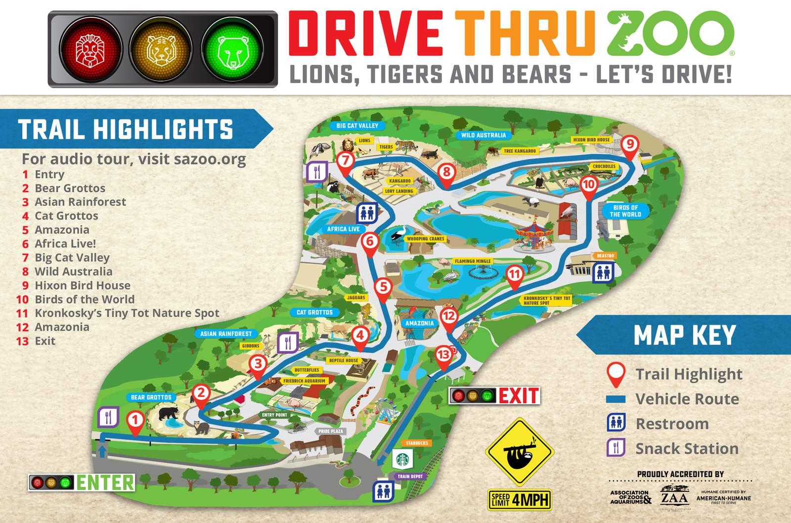 San Antonio Drive-Thru Zoo