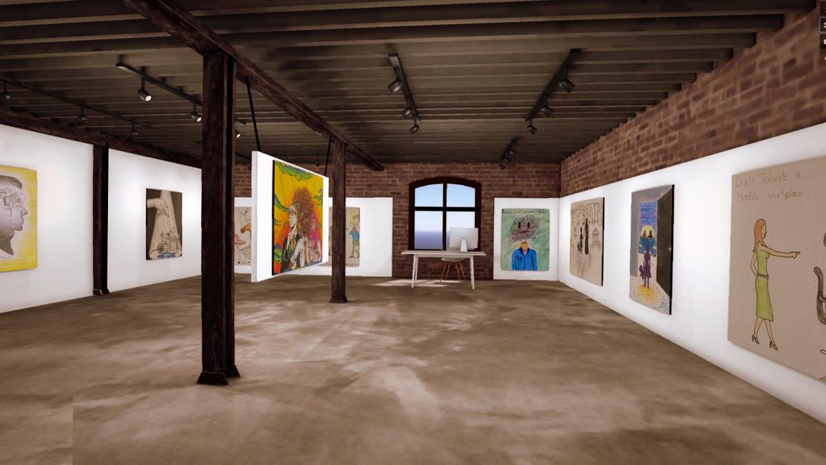 Image of virtual gallery