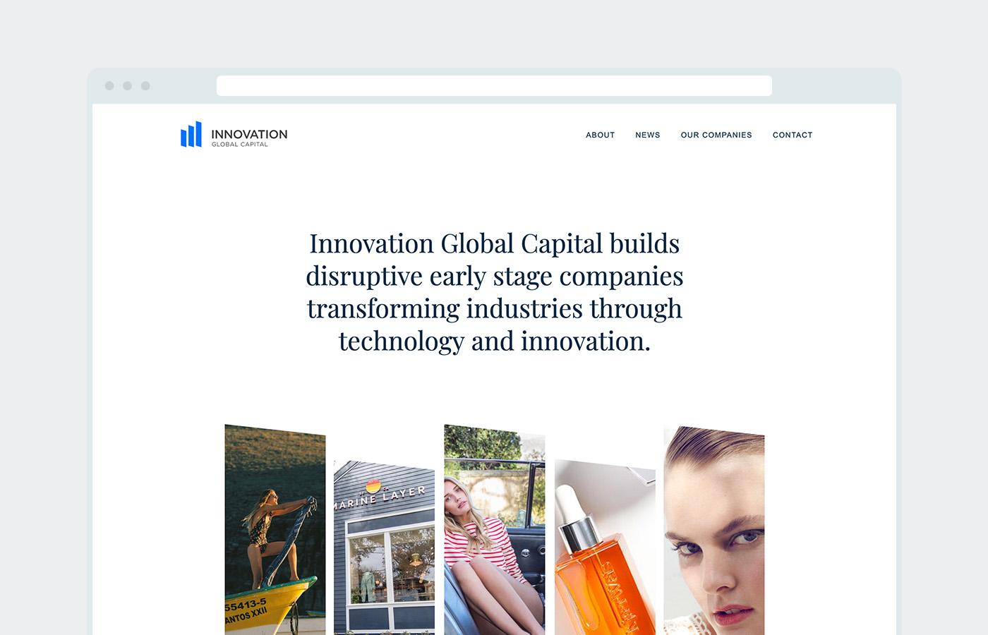 Innovation Global home page