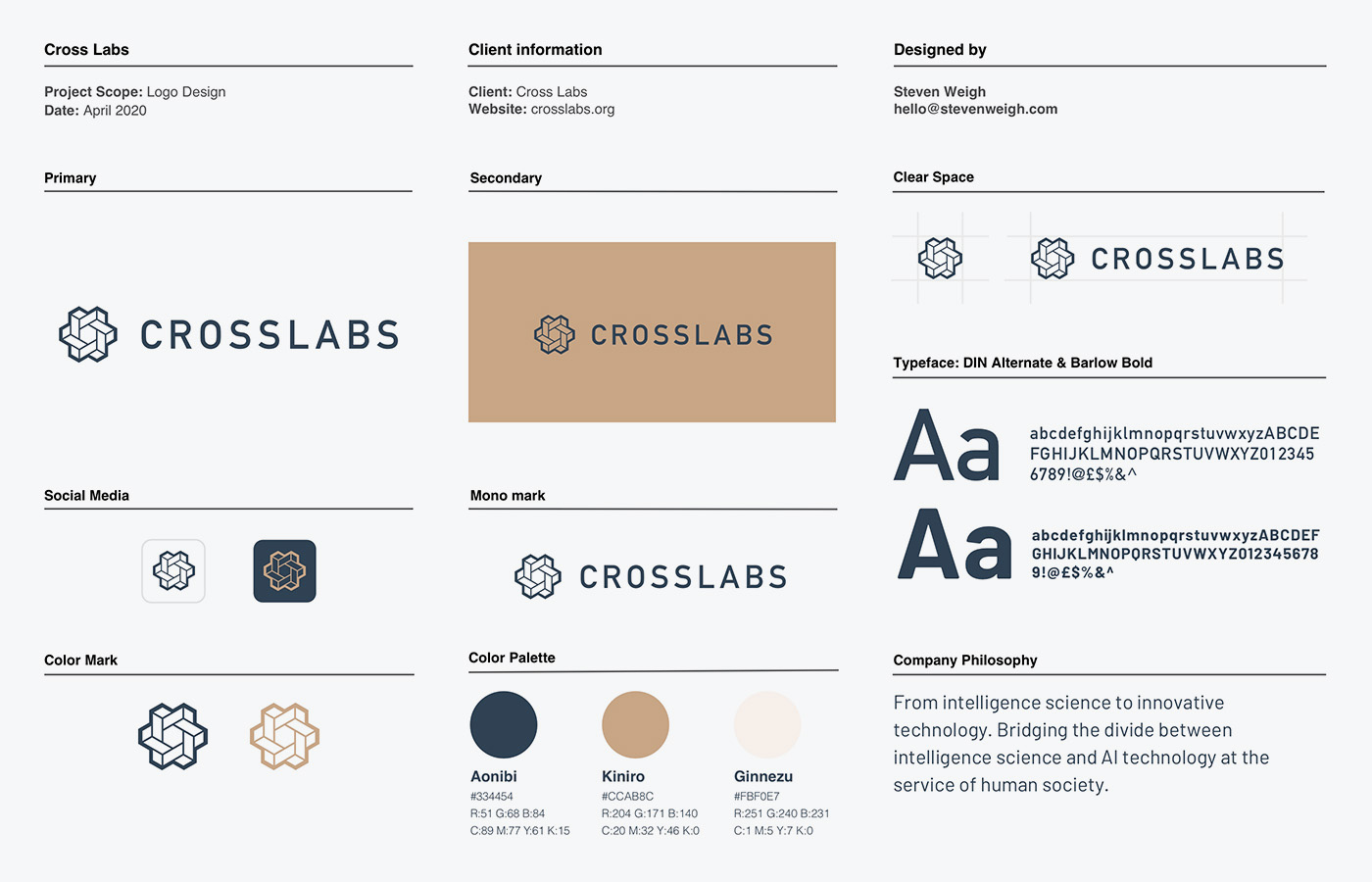 Crosslabs style guide