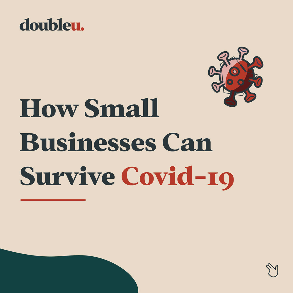 Infographic of how SME's can do best during COVID-10