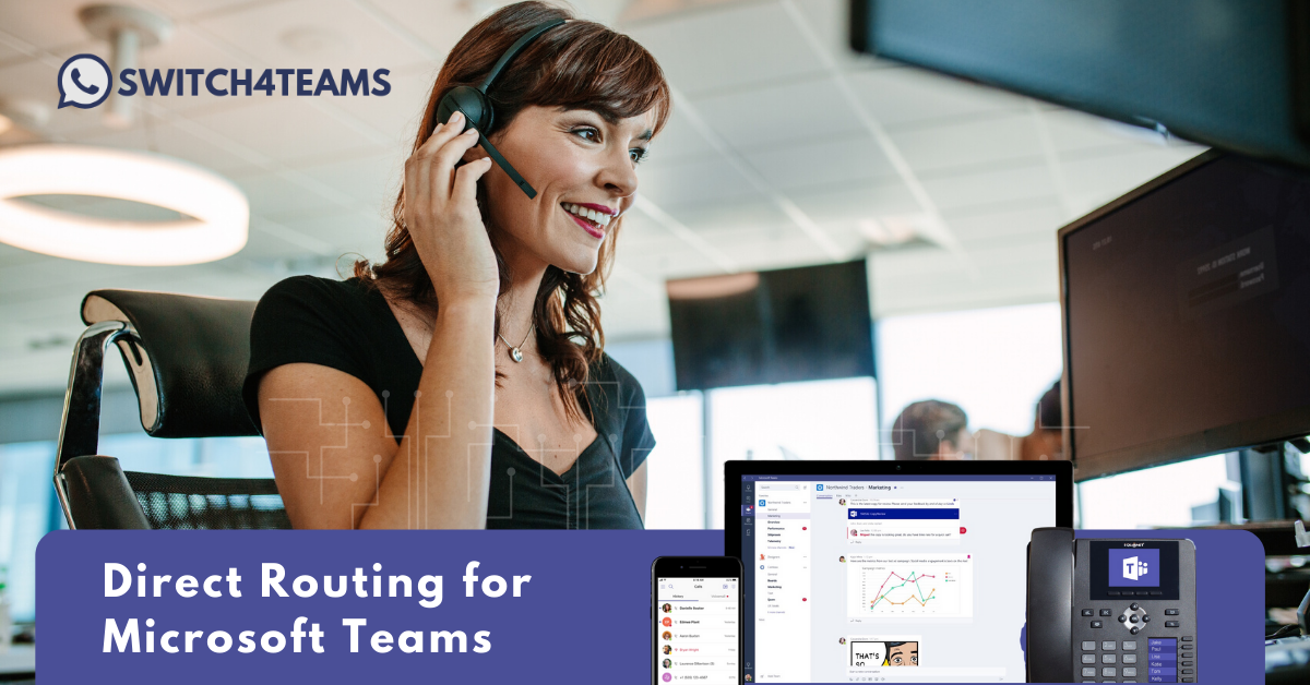 direct routing for microsoft teams