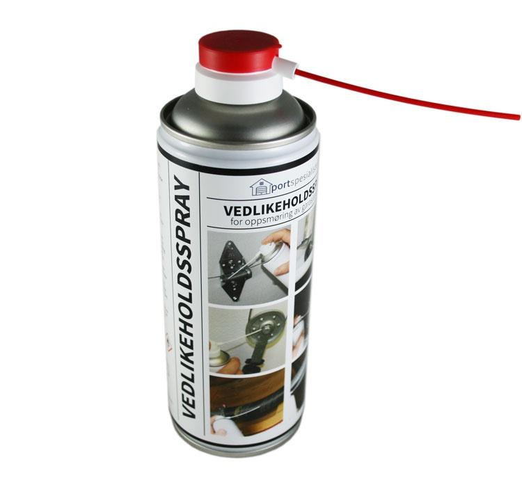 Bilde av sprayboks - vedlikeholdsspray