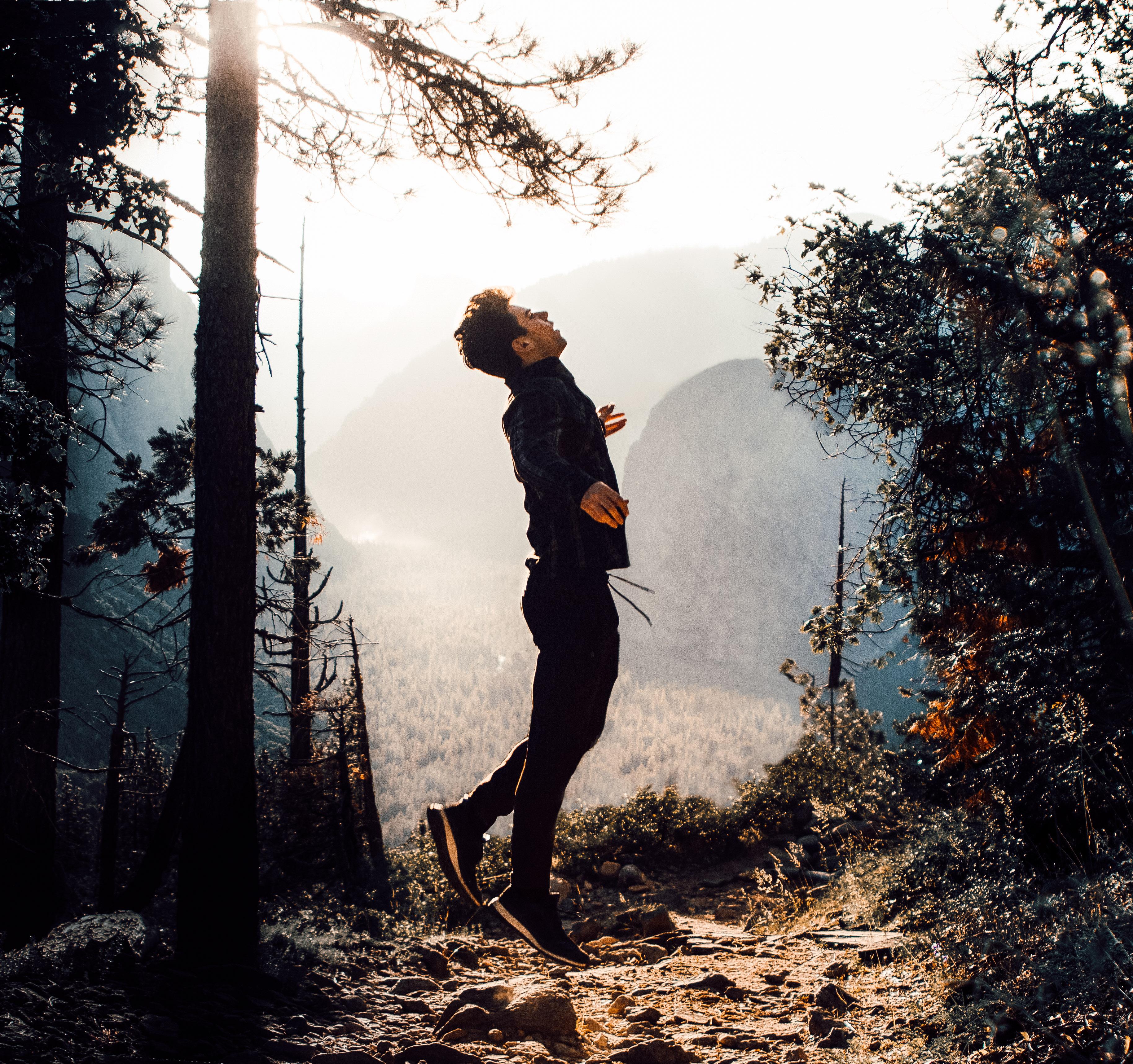 Sage Delaney in Yosemite National Park