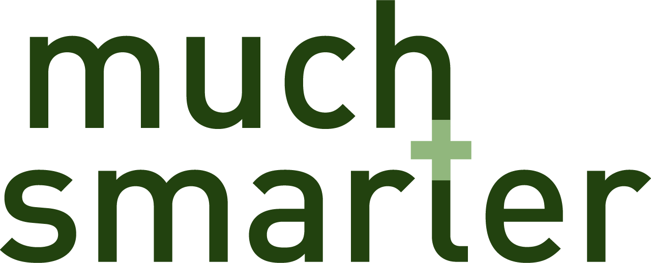 MuchSmarter logo, transparent background