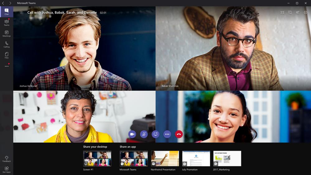microsoft teams video conference