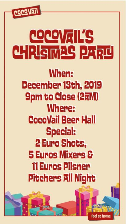 CocoVail Christmas Party in Barcelona 2019