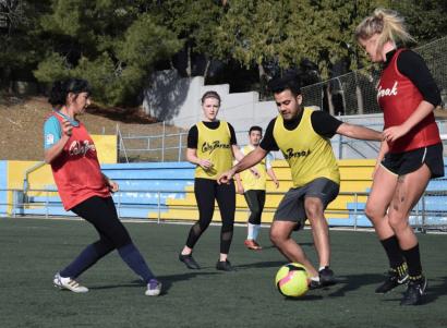 Celebreak- Soccer in Barcelona