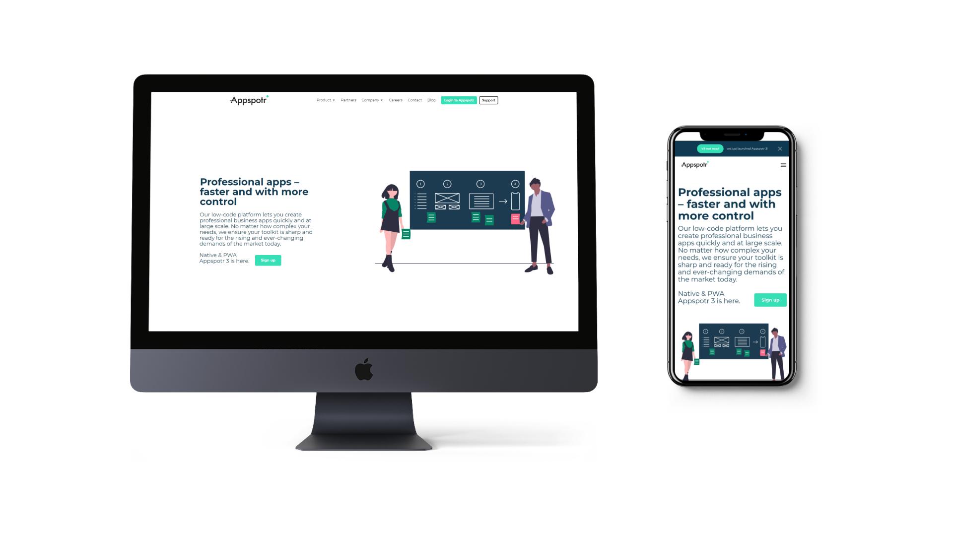 Appspotr Website