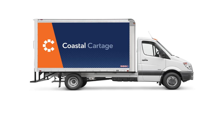 Coastal Cartage Van