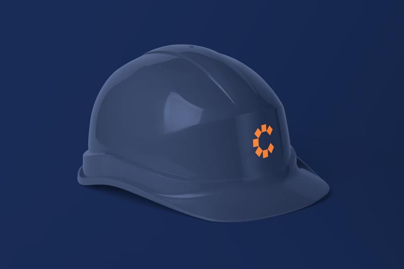 Coastal Cartage helmet