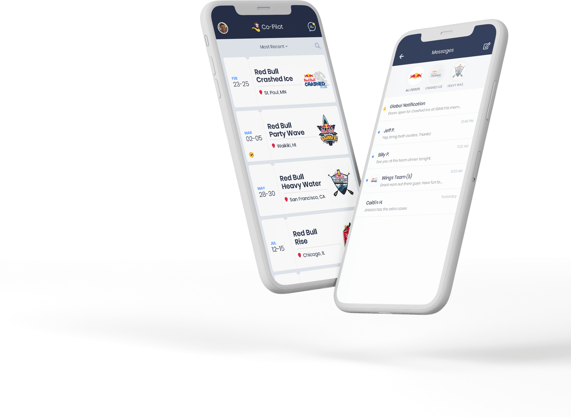 Red Bull iPhone mockup