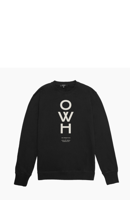 OWH black sweater