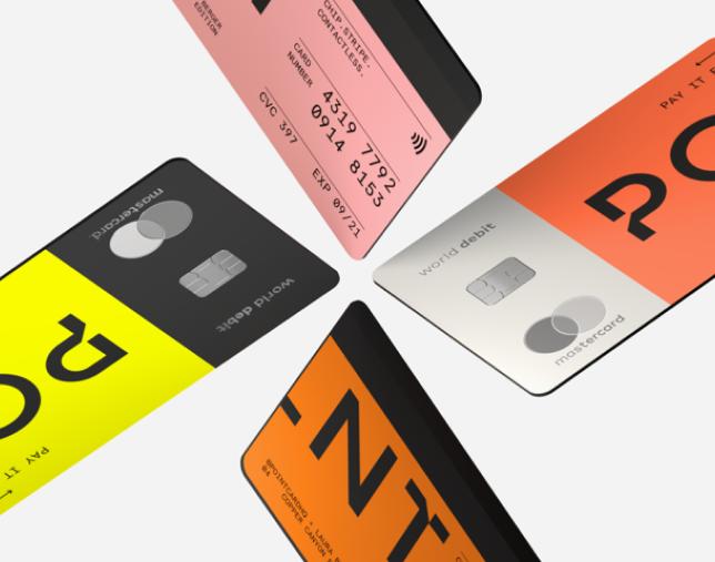 Point card 4 cards