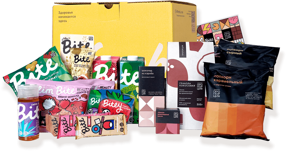 4fresh сет набор с продуктами