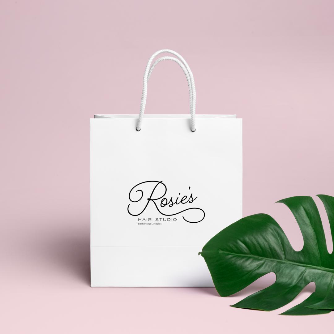 Rosie's Hair Studio Bag Design