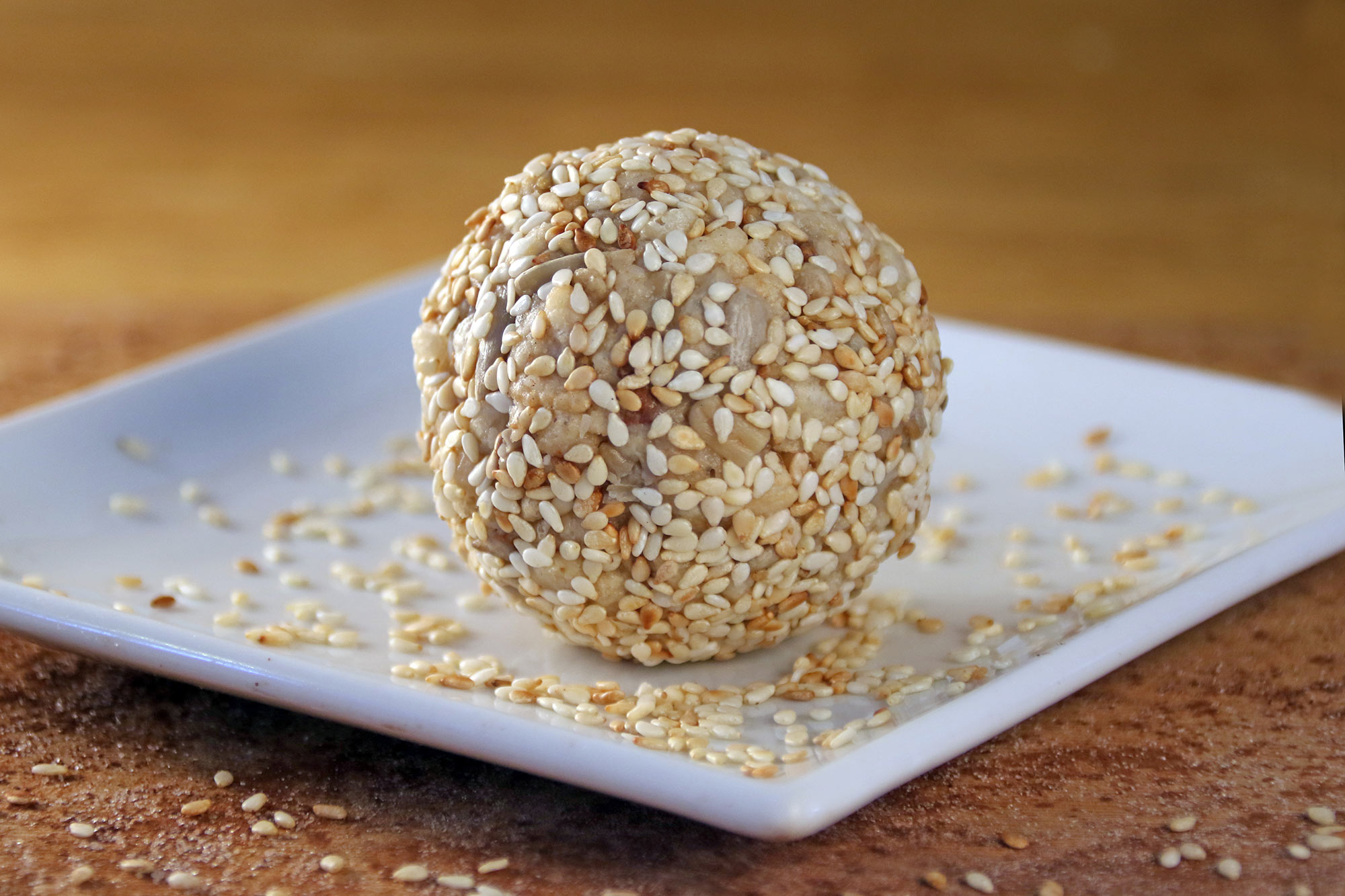 Honey sesame ball