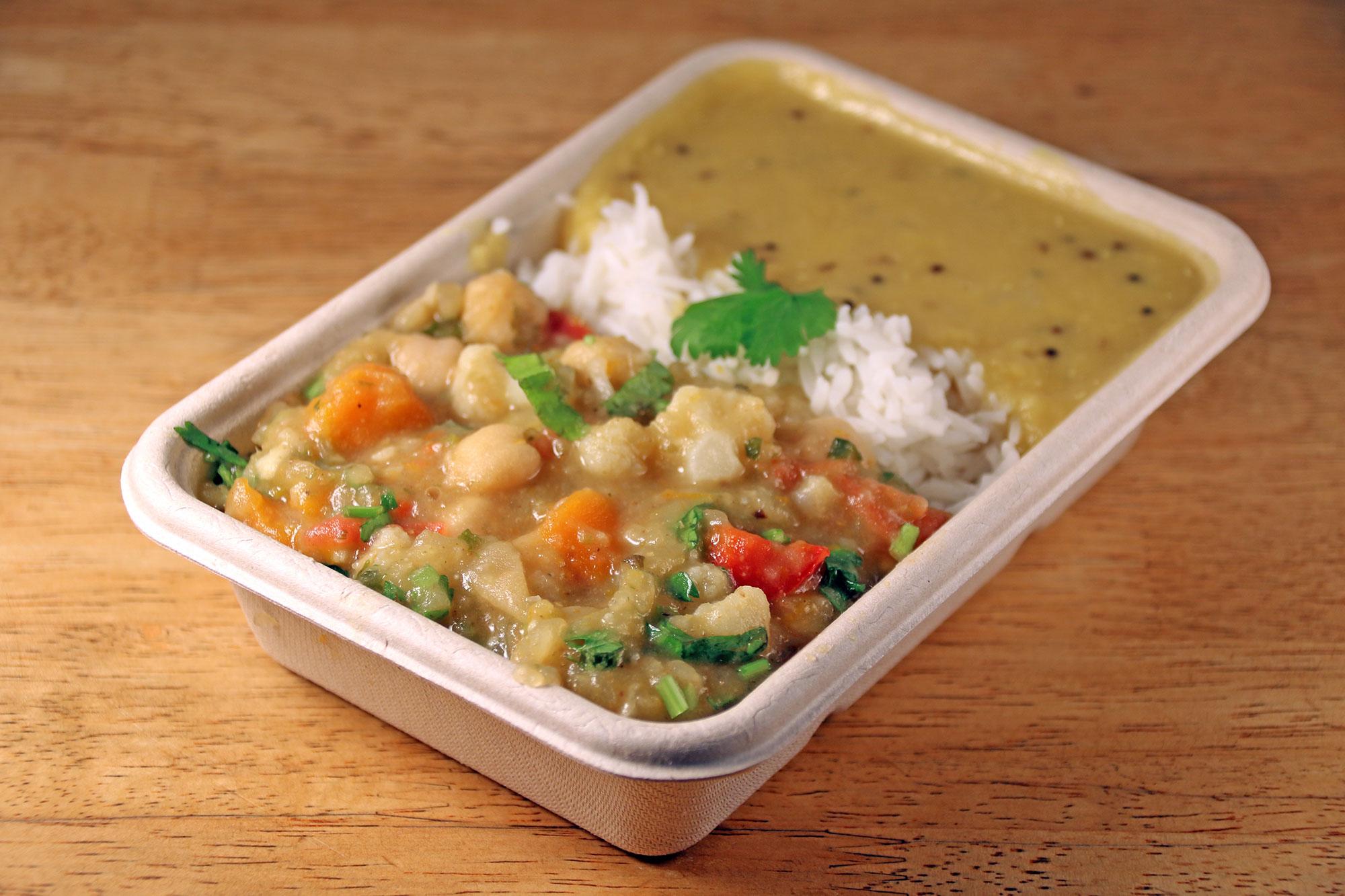 Chickpea & pumpkin curry