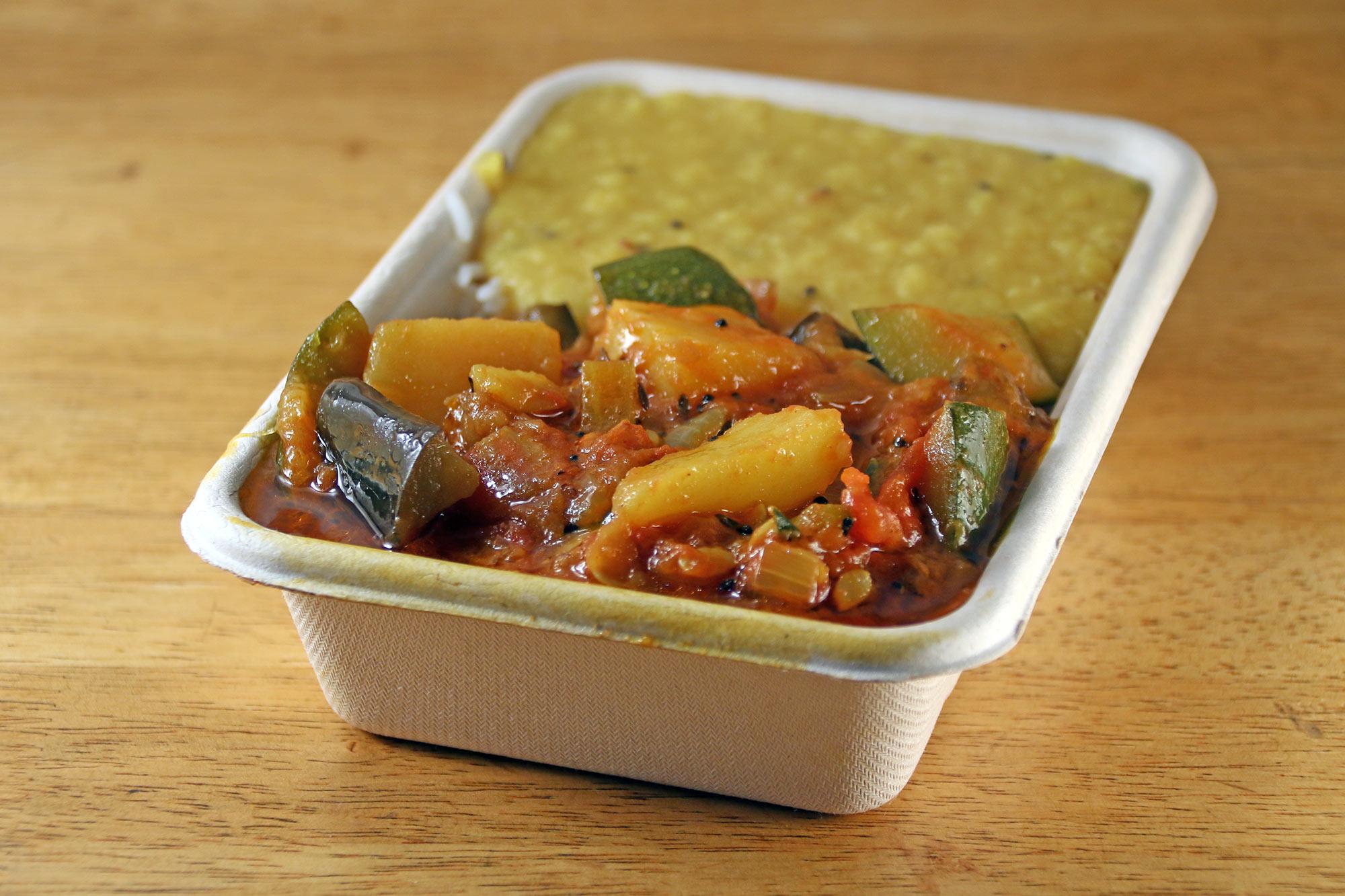 Achaari spiced vegetable curry