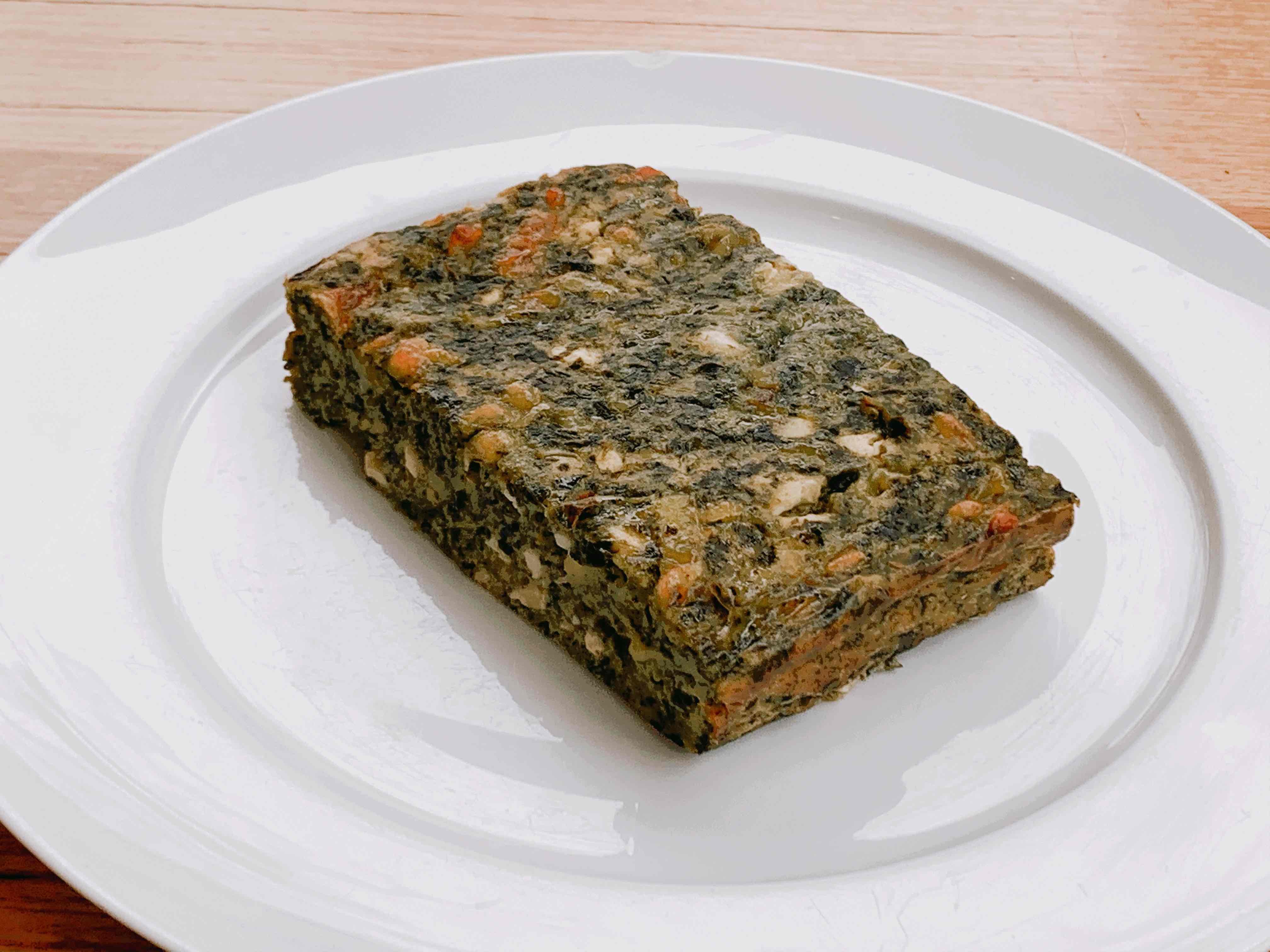 Greek Spinach Square