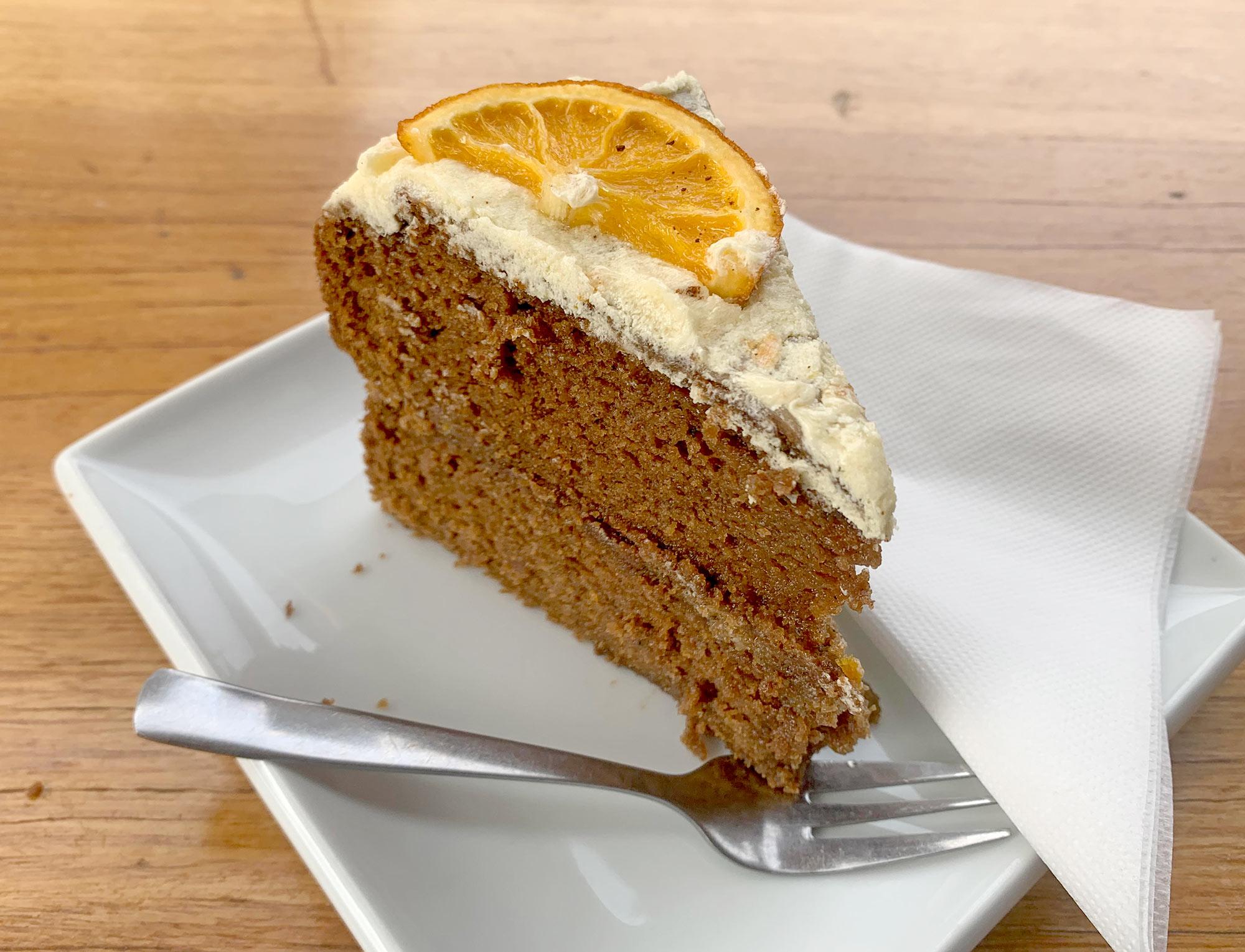 Ginger Bread – Orange Cake