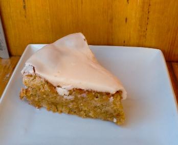 Hazelnut & orange cake