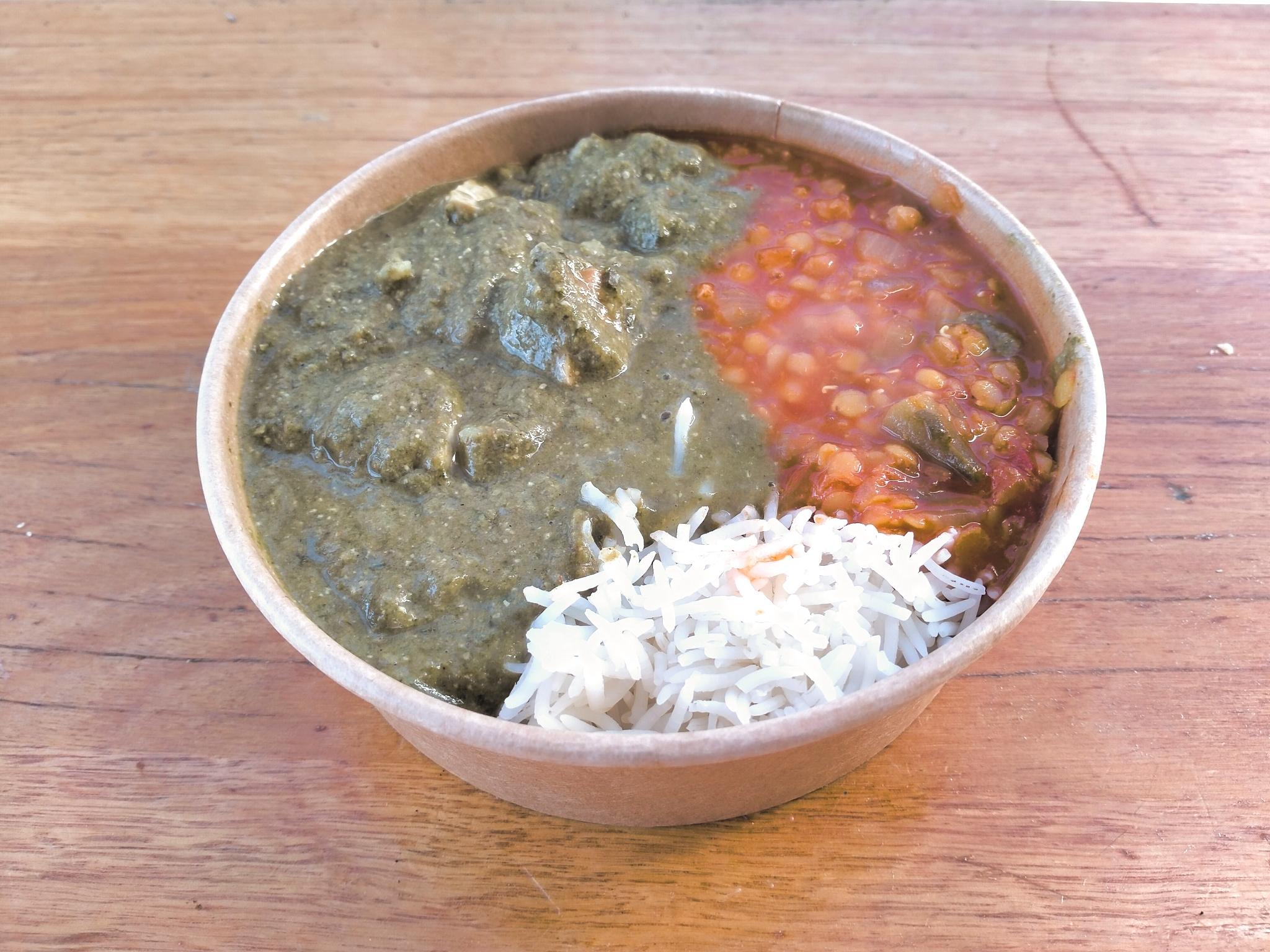 Palak Tofu Curry