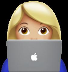 Girl technologist
