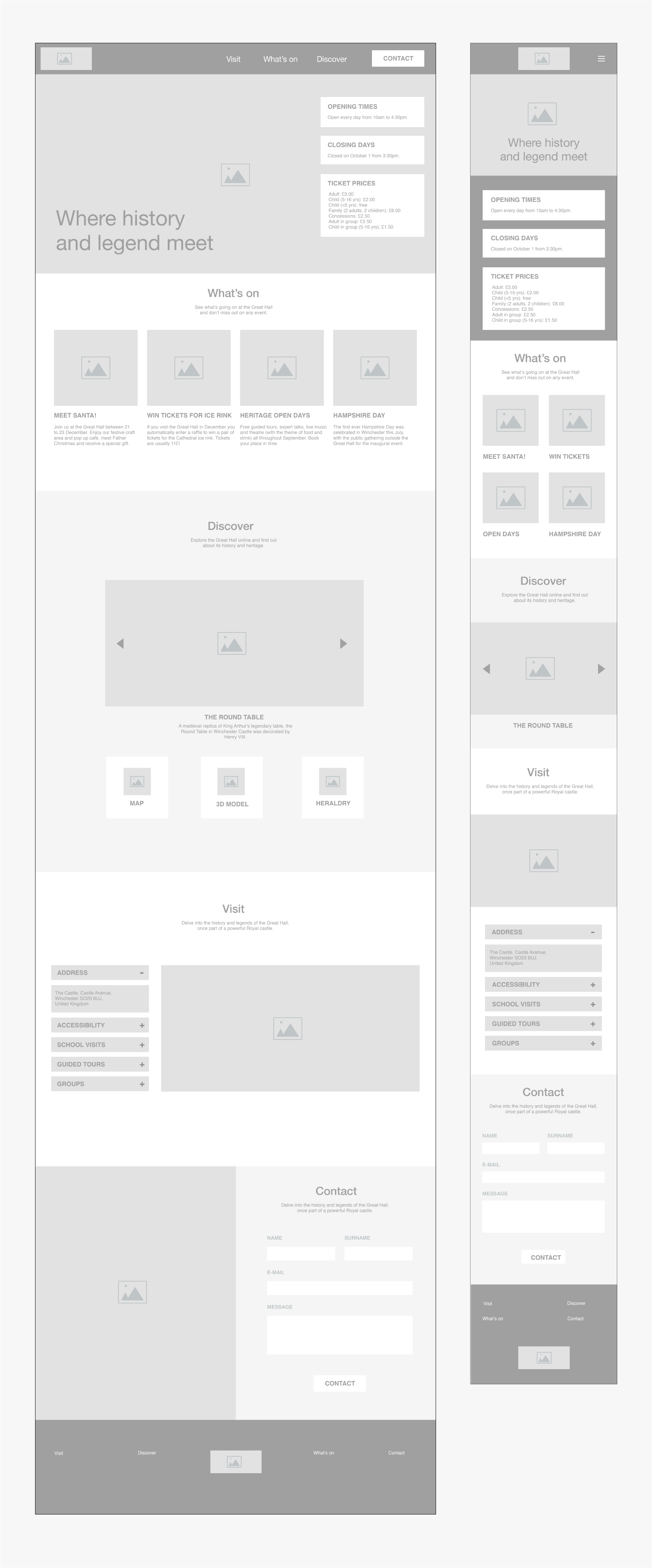 Wireframe on screen