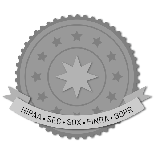 Icon showing HIPPA compliance