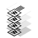 Four word documents stacked