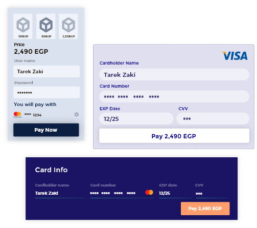 Customize payment forms