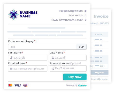 Collect online payments without website