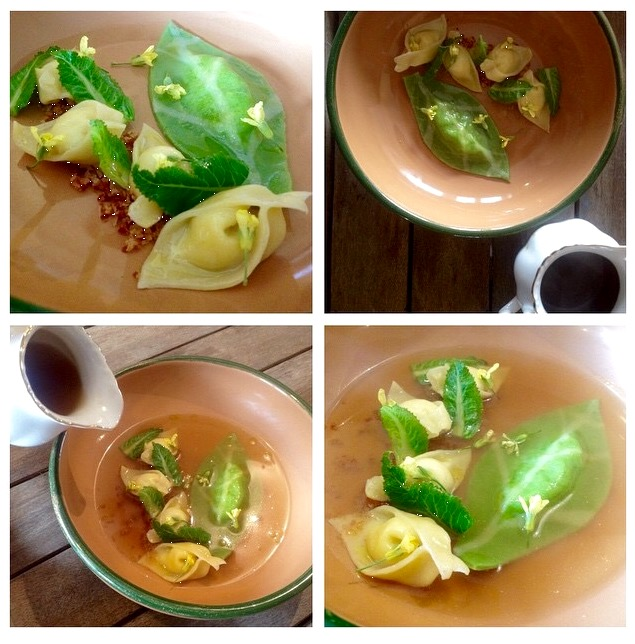 cauliflower ravioli
