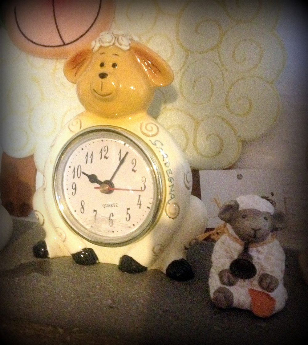 Home is where the sheep clock is.