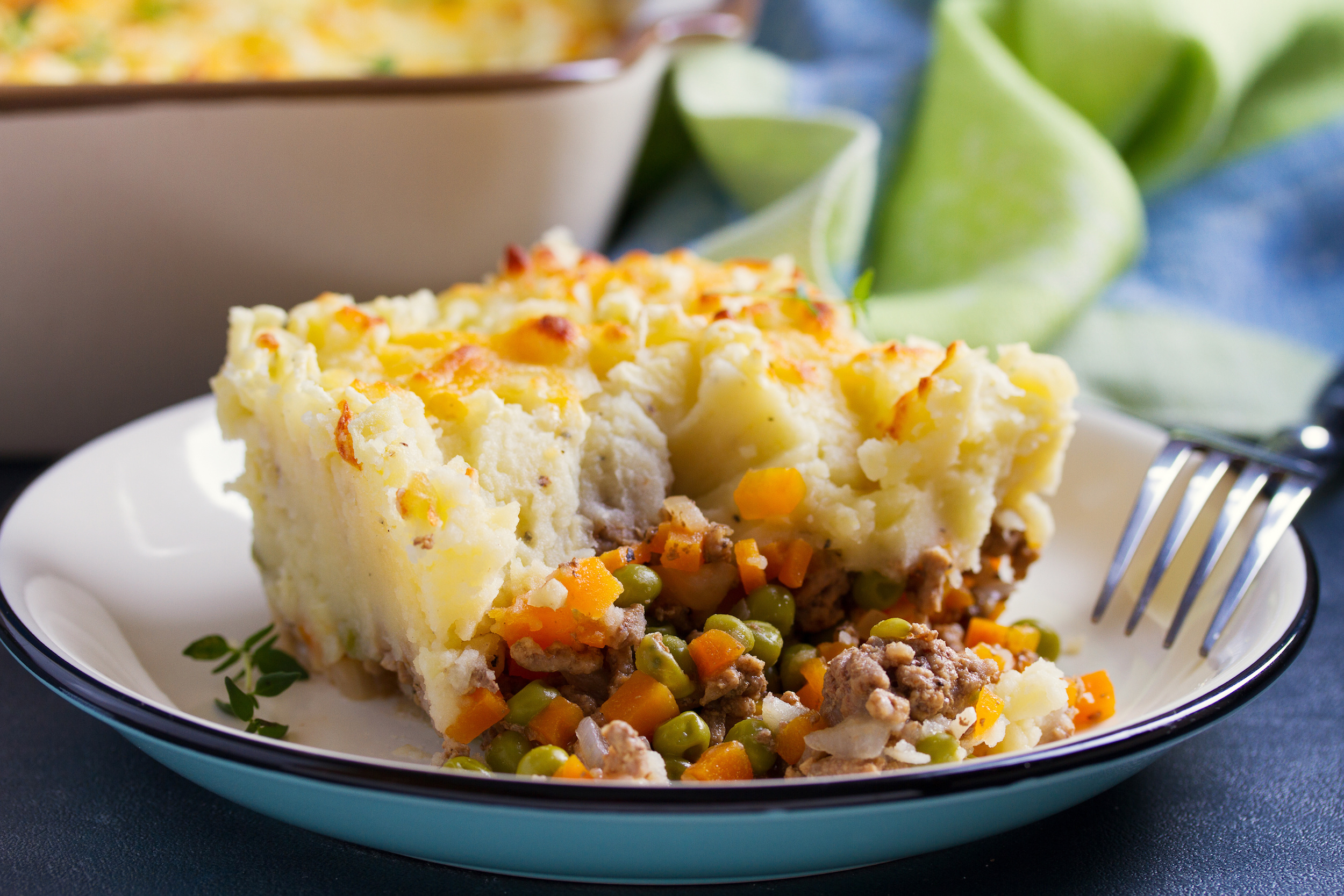 Simple cottage pie for two