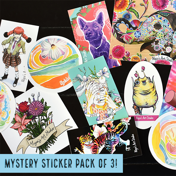Stickers designed by Alyce's Art Studio