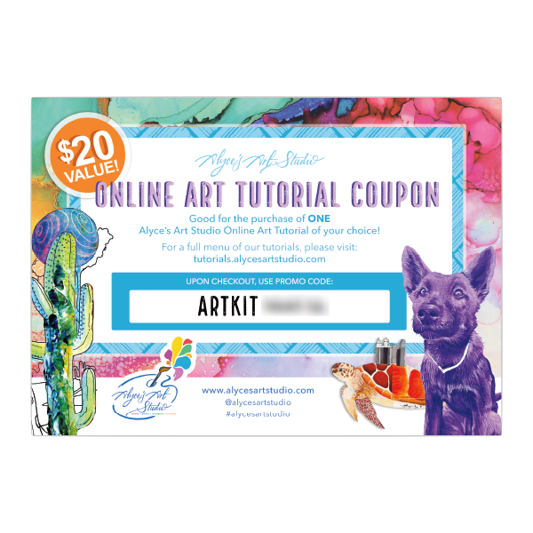 Alyce's Art Studio Online Tutorial Coupon